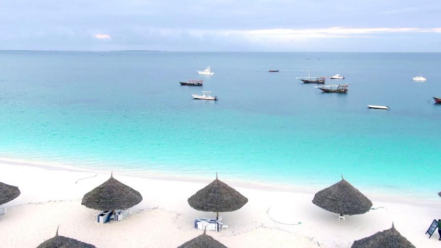 Kendwa Rocks Hotel Zanzibar Tanzania - YouTube