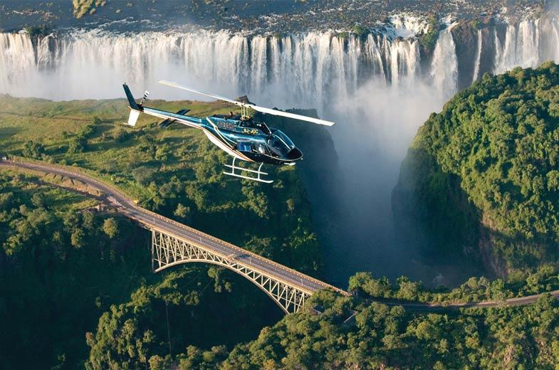 Resultado de imagen de helicopter victoria falls