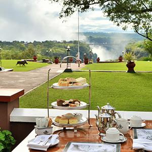 Resultado de imagen de victoria falls hotel tea time