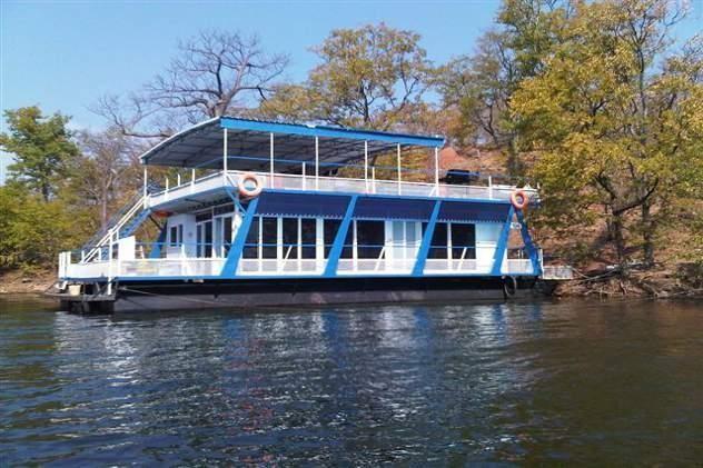 Resultado de imagen de houseboat kariba